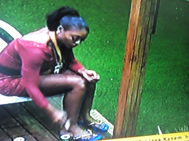 Coco Ice Smoking At Big Brother Naija (Photos)