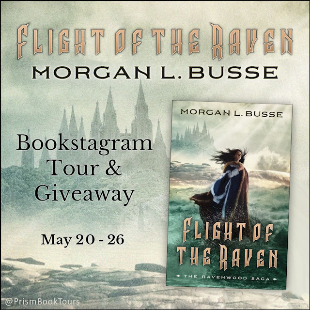 Check out the Bookstagram Tour for FLIGHT OF THE RAVEN by Morgan L. Busse!