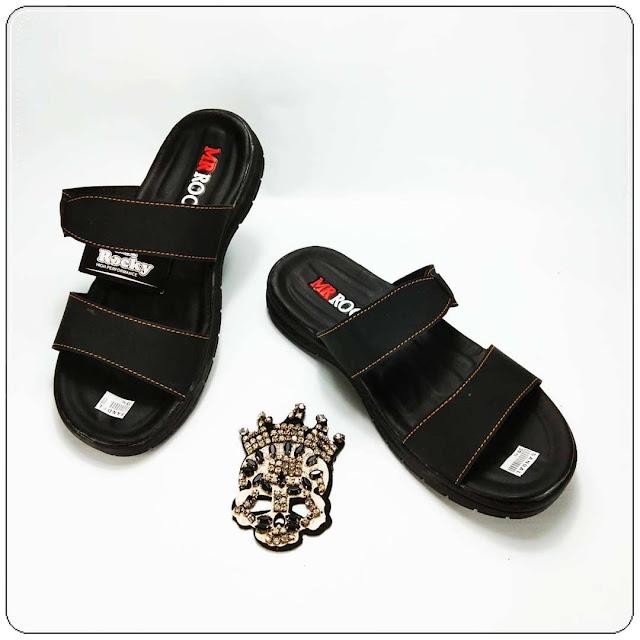 Sandal Kulit Imitasi Bahan Premium- Sandal OKL RDX- Sandal Pria Murah
