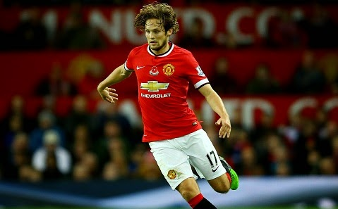 Manchester United midfielder Daley Blind returns to training