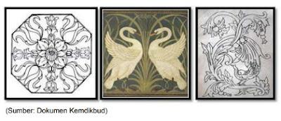 contoh motif dekoratif