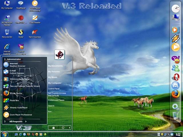Screenshot Windows Spiderman Vista V.3 Lite Reloaded (ISO)