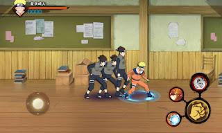 Cara Install Naruto Mobile Fighter v1.16.9.3 Apk Terbaru 2017