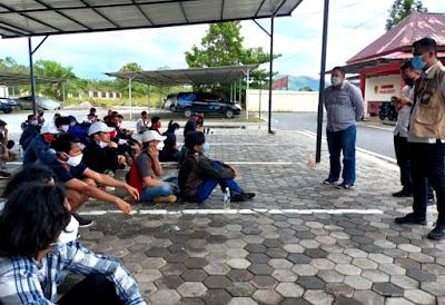 Gunakan Jalur Tidak Resmi, 53 PMI Diamankan Polres Natuna