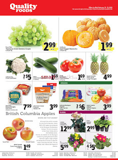 Quality Foods Canada Flyer February 19 - 25, 2018