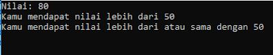 Hasil Ouput Program C#