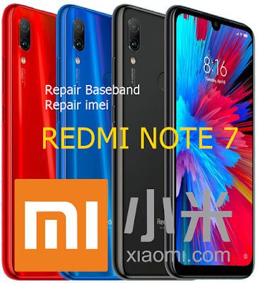 Fix Baseband-iMEI Null Redmi Note 7 Klik-Klik Muncrat