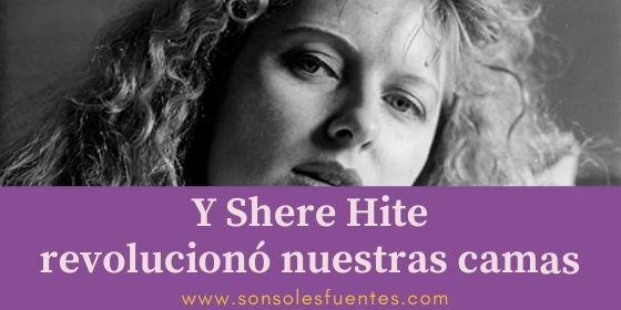 La revolución sexual de las mujeres: cuando Shere Hite se metió en nuestras camas