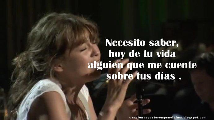 Canciones de Thalia, Despedidas, Canciones Tristes, Canciones de Amor,