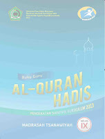 Buku Guru K13 Quran Hadits Kelas 9 MTs
