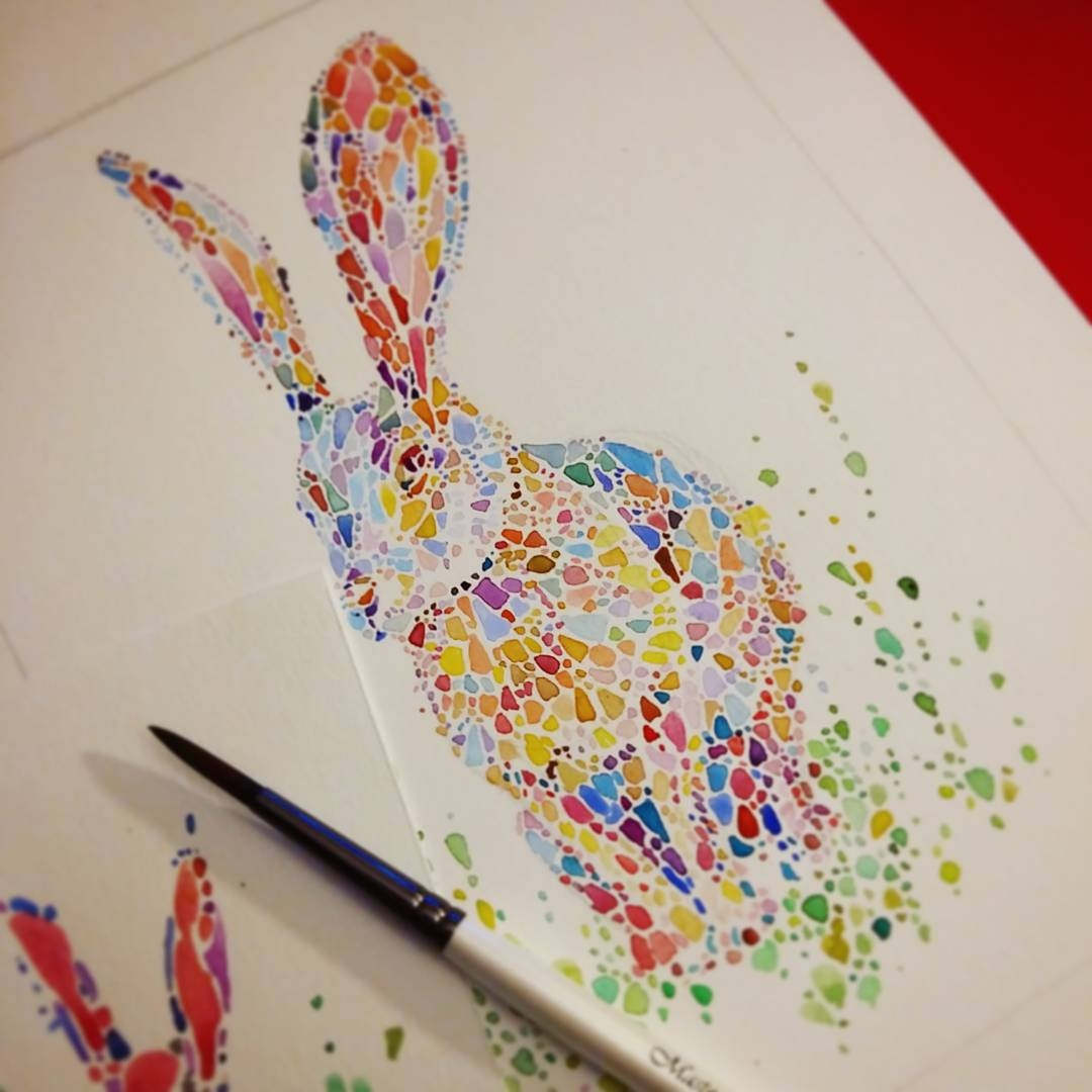 19-Rabbit-Ana-Enshina-anaensh-Dot-and-Circle-Animal-Paintings-Ishihara-Test-www-designstack-co