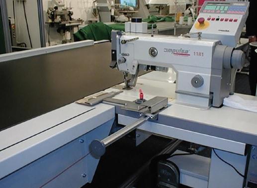 Semiautomatic leg seamers