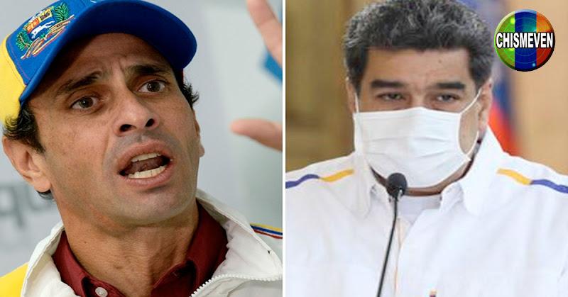INCOMPRENSIBLE   Capriles le pide a Maduro que haga algo por los médicos
