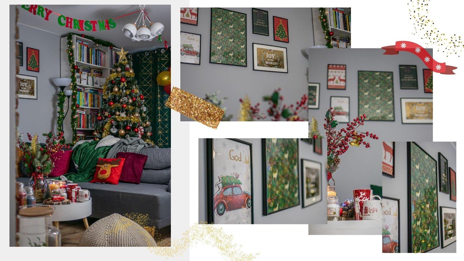 7 galeria swiatecznych plakatów DIY jak zrobic samemu galerie plakatów z motywem swiatecznym za grosze mieszkanie dekoracje wystroj wnetrza