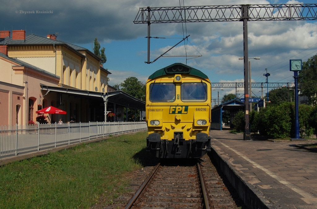 Ostróda, stacja kolejowa