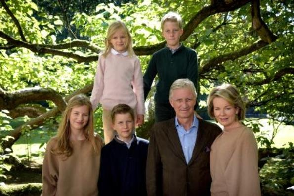 New photos of King Philippe, Mathilde, Crown Princess Elisabeth, Prince Gabriel, Princess Eleonore and Prince Emmanuel