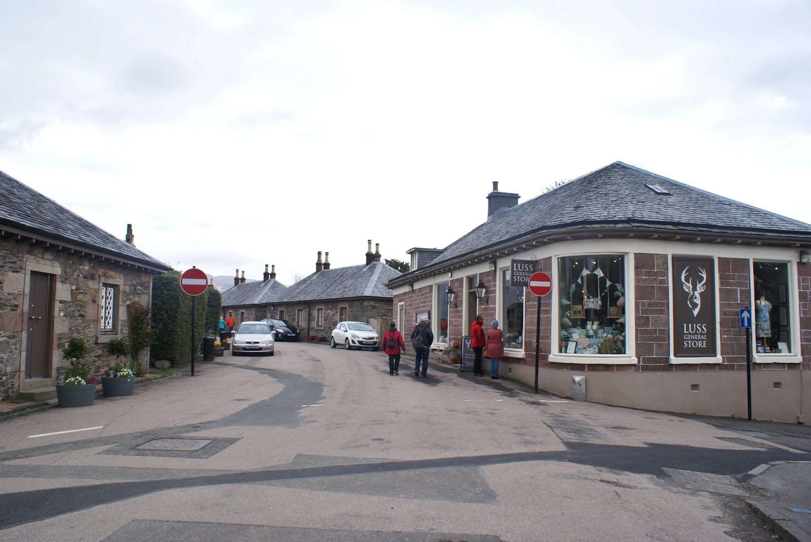 luss general store loch lomond scotland uk