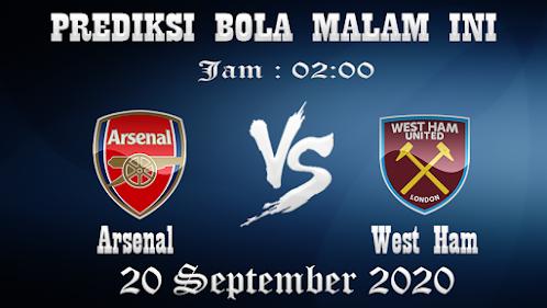 Prediksi Bola Arsenal Vs West Ham United