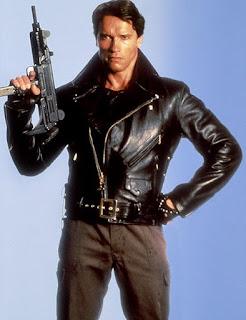 Arnold Schwarzenegger in Terminator 1