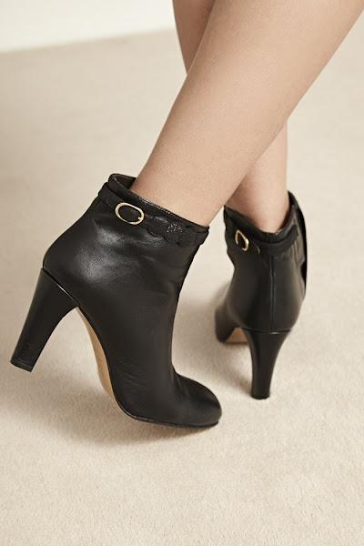 Soldes Patricia Blanchet boots noir Lubitsch
