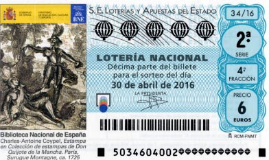 Loteria nacional 30 abril
