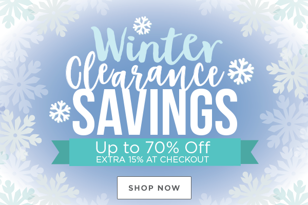 Shop Winter Clearance Sale over Spellbinders