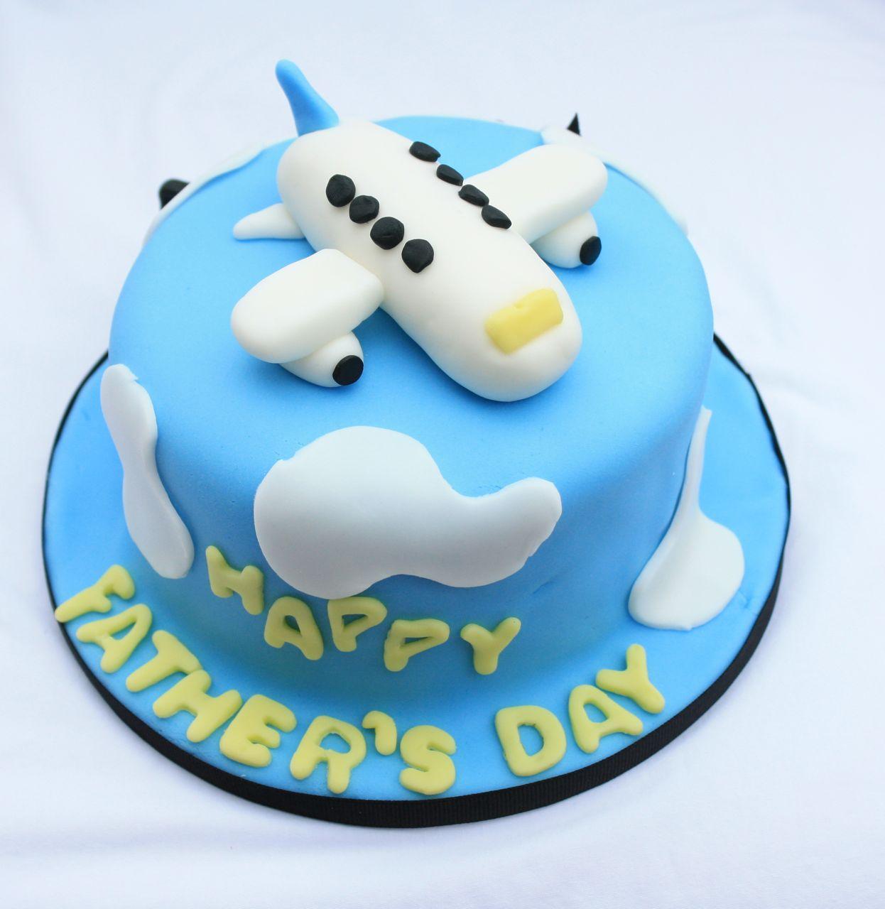 Cakealicious Surprises Father S Day Cake Airplane Theme