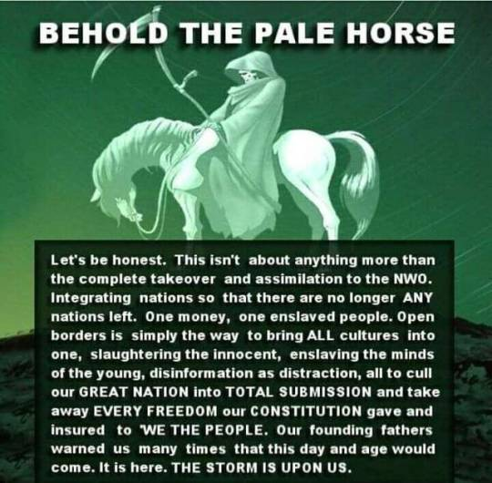 Behold The Pale Horse...