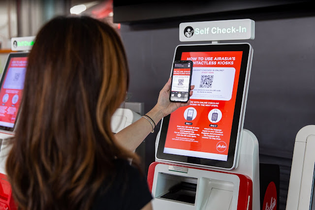 Air Asia Mula Kenakan Bayaran RM20-RM30 Untuk Check-In Di Kaunter Bermula 1 September 2020