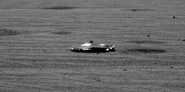 Συνωμοσίες σε διαστημική τροχιά: UFO σε νέα φωτογραφία από τον Κόκκινο Πλανήτη;