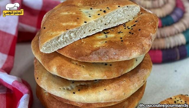 خبز طابونة - المطبخ التونسي
