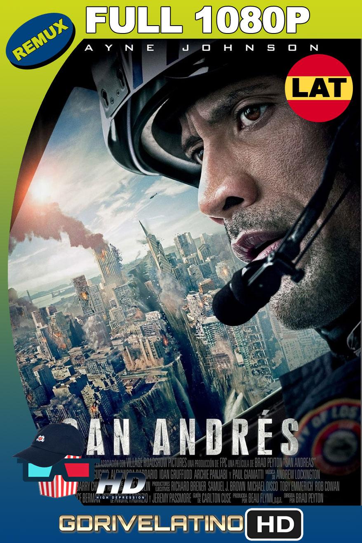 Terremoto: La Falla de San Andrés (2015) BDRemux 1080p Latino-Ingles MKV