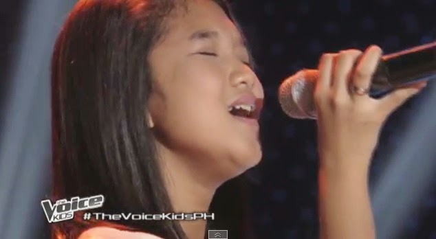Mitz  'Heaven' The Voice Kids Philippines