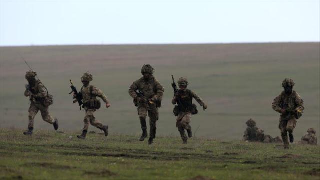 Fuerzas británicas se retiran totalmente del sur de Siria