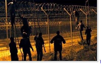 إصابة خمسة جنود مغاربة في هجومين على مليلية المحتلة