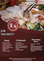 Job Vacancy at Huang Hou Surabaya Terbaru November 2019