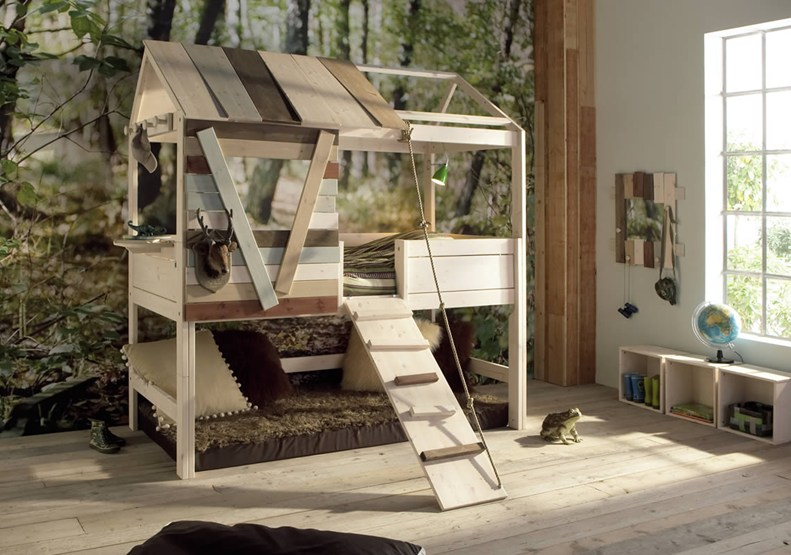 10 fotos de camas originales para ni os dormitorios for La cabana divertida