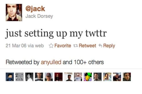أول تغريدة في تويتر لجاك دورسي تباع بمبلغ قياسي!