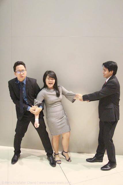 Renz Cheng, Geraldine Malit and Myles Sia - FSRM