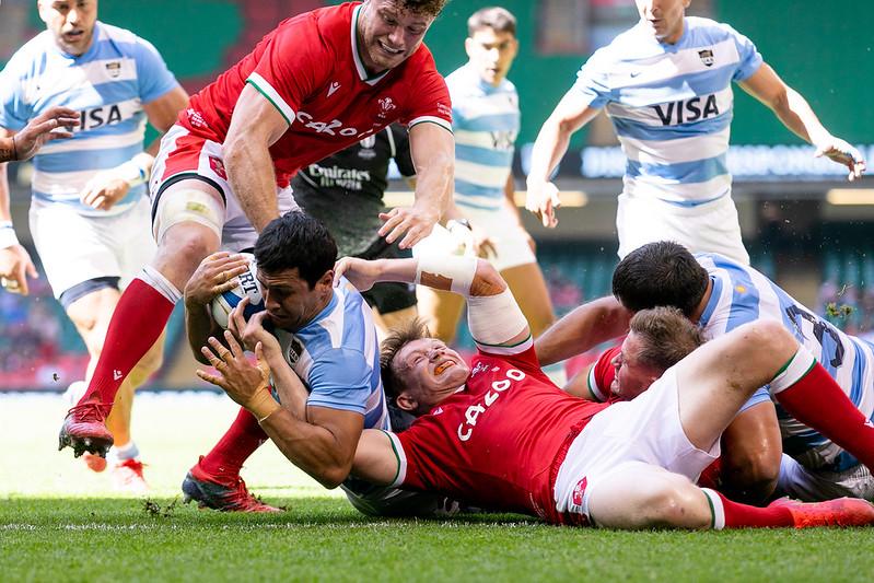 Los Pumas vencieron a Gales en Cardiff