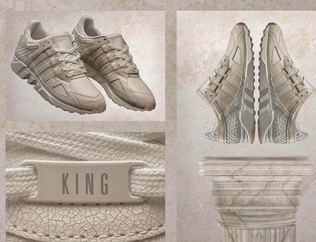 buy popular 999c5 e9a3f Pusha T x adidas King Push EQT Running Guidance 93 Sneaker Available Now  (Images)
