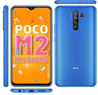 شاومي بوكو ام 3 Xiaomi Poco M2 Reloaded شاومي بوكو ام 3 Xiaomi Poco M2 Reloaded الإصدار : MZB0957IN