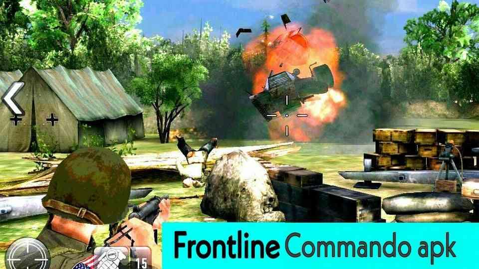 تحميل لعبة فرونت لاين كوماندو frontline commando ww2 apk اخر تحديث للاندرويد