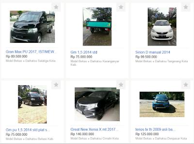 5 Tips Cermat Membeli Memilih Mobil & Sepeda Motor Bekas Secara Online