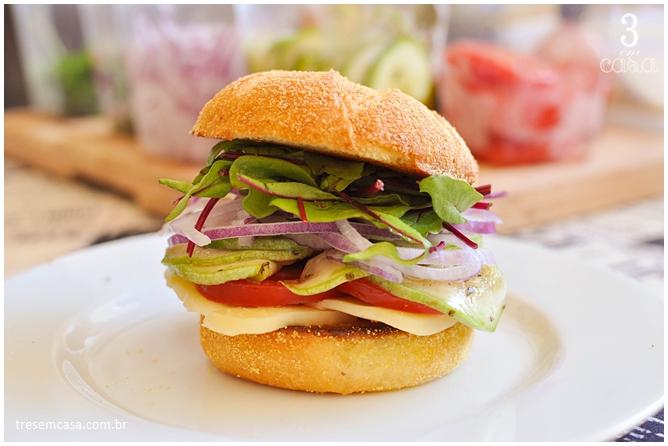como fazer sanduíche de abobrinha