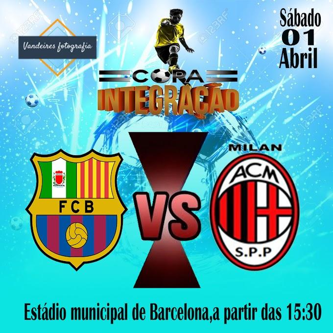 A equipe da cidade de Barcelona  voltaram a jogar neste sábado dia 01 de abril