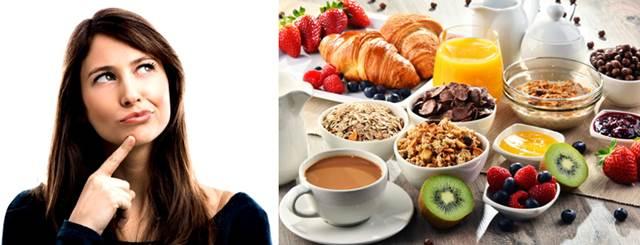 Ejemplos de desayunos nutritivos