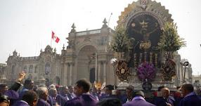 SEÑOR DE LOS MILAGROS 2017: Este es el recorrido de la primera procesión (7 Octubre) Iglesia Las Nazarenas - www.nazarenas.tv