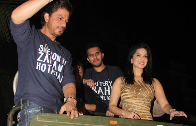 Raees Success Party, SRK, Sunny Leone