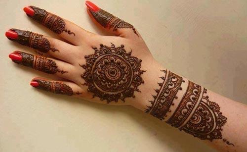 Khaleeji Henna Design for Eid 2018